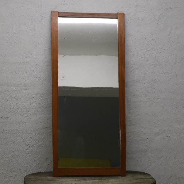 Teak spejl 113 x 51 x 1,5 cm