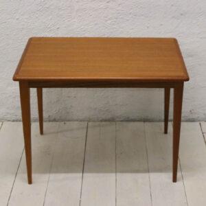 Teak sofabord lille - svensk - 64x42x48 cm