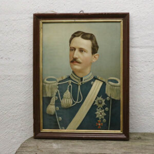 Kongelig herre i pastelfarver - svensk - 45 x 60 cm
