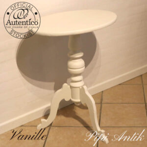 Vanille Autentico ovalt bord L49xB44,5xH74 cm