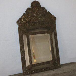 Metal spejl - romantisk - rubust B35xH60x6 cm