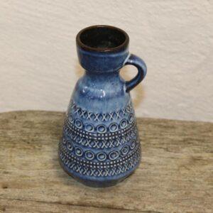 West Germany keramikvase med hank 303-16 cm
