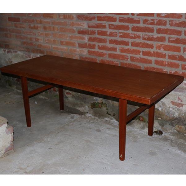 Teak sofabord - retro -- L150xB60xH56cm