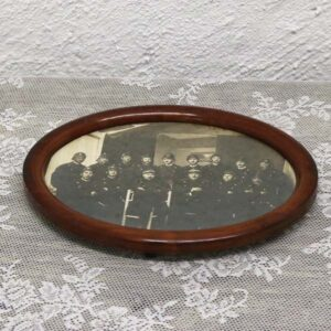 21 Maghoni soldater glasbakke 27x20x2,5 cm
