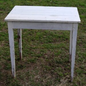 id havebord - plantebord i afskallet look - 74x50x73 cm