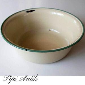 Emalje creme Kockums balje - 3 liters 28 cm x 10 cm H