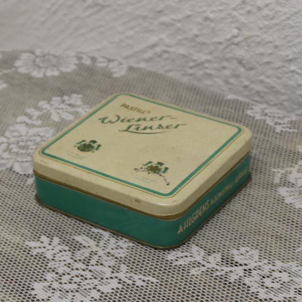 Dåse pastil winerlinser 10,5x10,5 cm