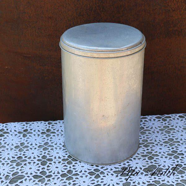 Alumiumsdåse Ø 20x30 cm