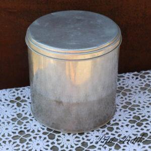 Alumiumsdåse Ø20xH20 cm