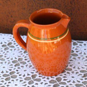 Keramik NoName vandkande brun 16 cm H