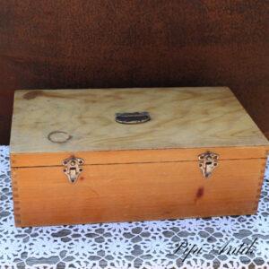 Lys værktøjskasse - sykasse 45,5x25x15,5 cm