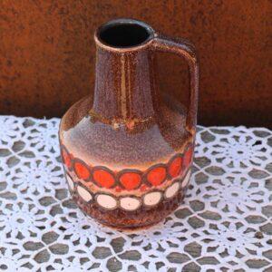 Svensk keramikvase 4073 - orange - Ø15x20 cm