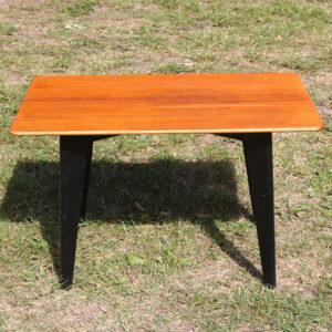 Teak sofabord - lille - 61,5x42x49 cm H