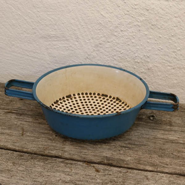 Madan Blå sig med 2 hanke Ø21x7,5 cm