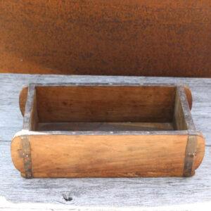 Murstensforme - råt træ - patineret 32x15x10 cm