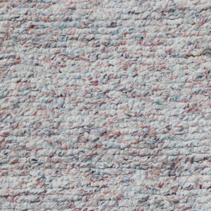 03 Pastel råhvidt kludetæppe 72x116 cm