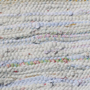 04 Kluddetæppe - pastel gulligt 61x122 cm