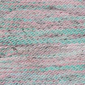 08 Kluddetæppe - pink mint - 59x124 cm
