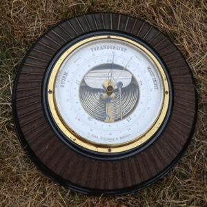 Vejrstation - barometer - C Rose Rijkøbing - nakskov Ø23x7x9 cm