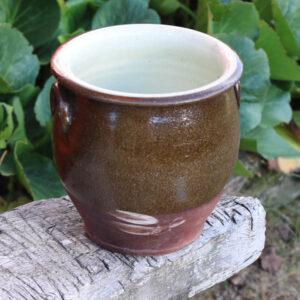 Keramik krukke - NN - Ø17x18 cm