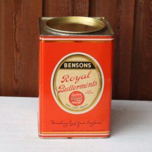 Dåse rødt - Buttermints - 16x16x23 cm H