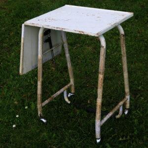 Skrivemaskinebord med klap 74x38x65 cm avisdecoupage