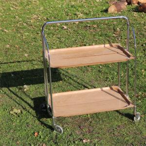 Retro metal bakke 64x45x78 cm , Bremsley & Co Solingen