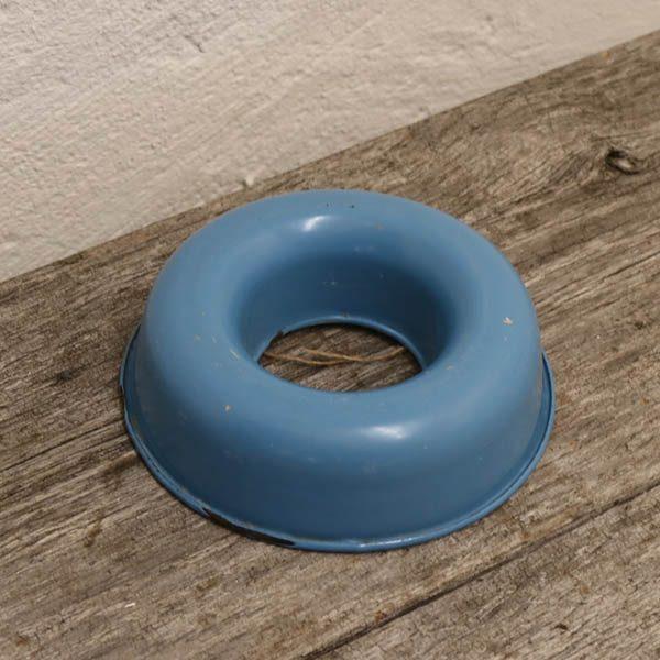 Madam blå kageform Ø16,5x5 cm