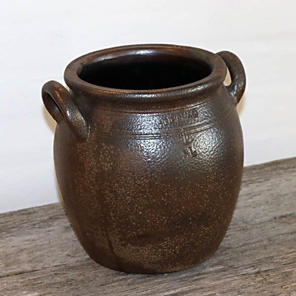 Hoganæs brun keramikkrukke 5 liters Ø18,5x22 cm H