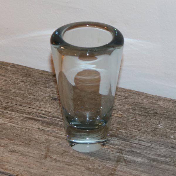 Holmegaard vase Ø8 x 14 cm
