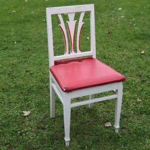 Stol romantiske 44x41x85 cm siddehøjde 45 cm