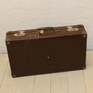 Brun retro kuffert 65x37x16 cm