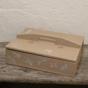 Skopudserkasse værktøjskasse L38x27,5x12 cm H