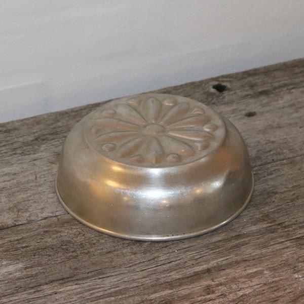 Metal kageform Aluminium Ø18x6 cm