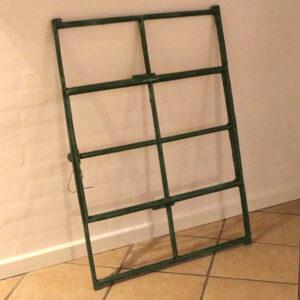 Staldvindue stor grønt og mintgrøn rustikt 73x97 cm H
