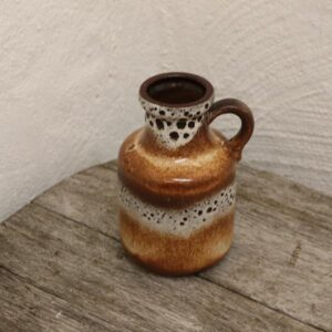 West Germany vase 414-16 cm brun beige