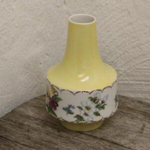 Romantisk vase tysk og håndmalet 1974 Ø14x20 cm