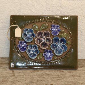 31 Keramikbillede 23x18 cm retro JIE