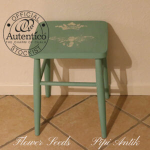 Flower Seeds taburet stol med motiv 34x34x45 cmH