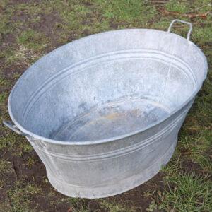 08 Zink badekar 80x60x35 cm