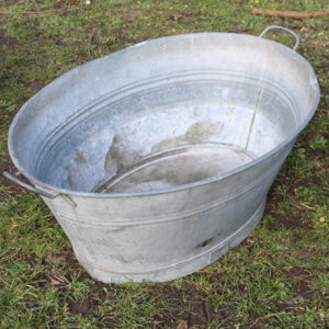 09 Zink badekar 83x51x37 cm