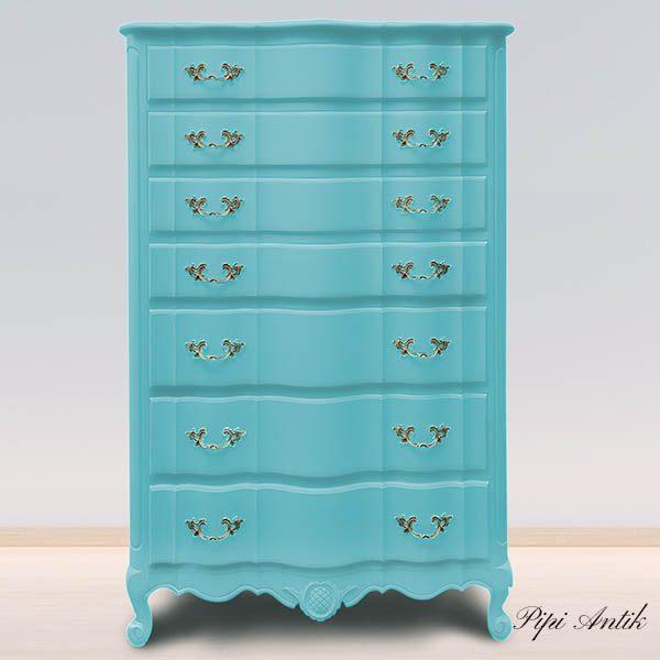 Bright Turquoise kalkmaling mat Versante Autentico