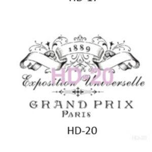 Stencil HD-20 45x45 cm Grand Prix