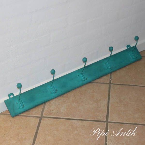 Mingrøn knage sortvokset 94x10x15 cm