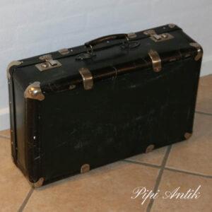 Retro sort lille kuffert 55x34x18 cm