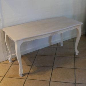 Sofabord i Old White og Coco Old White