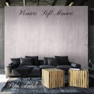 Soft Mauve 2½ liters væg kalkmaling Venice Autentico