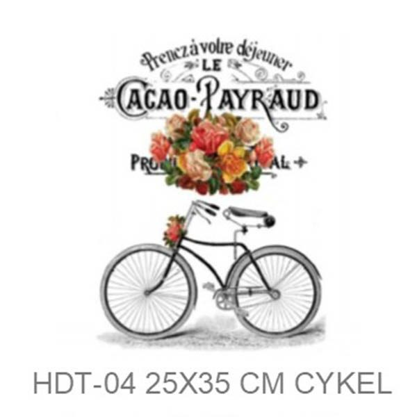Transfer HDT-04 25x35 cm Cacao