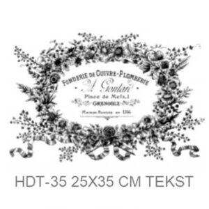 Transfer HDT-35 25x35 cm Founderie