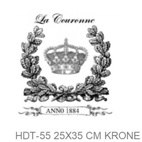 Transfer HDT-55 25x35 cm La Coronne